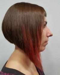 Reflejos color cabello mujer